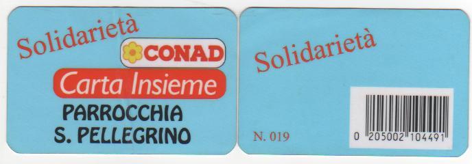 carta CONAD sintonia a colori